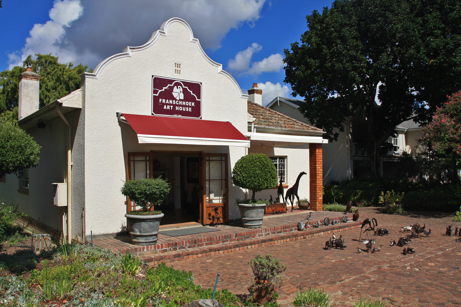 Franschhoek south africa architecture