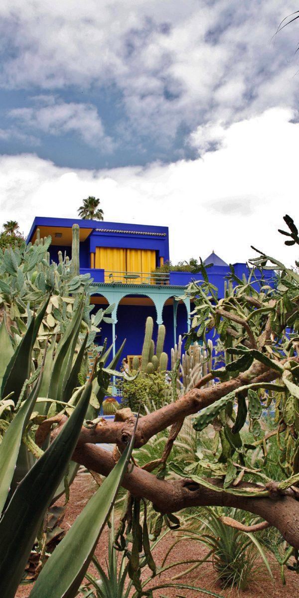 jardin majorelle marokko