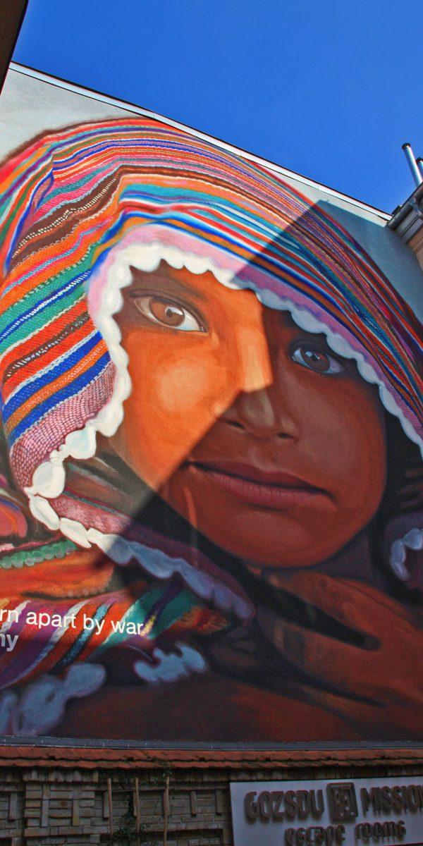 graffiti wallart budapest