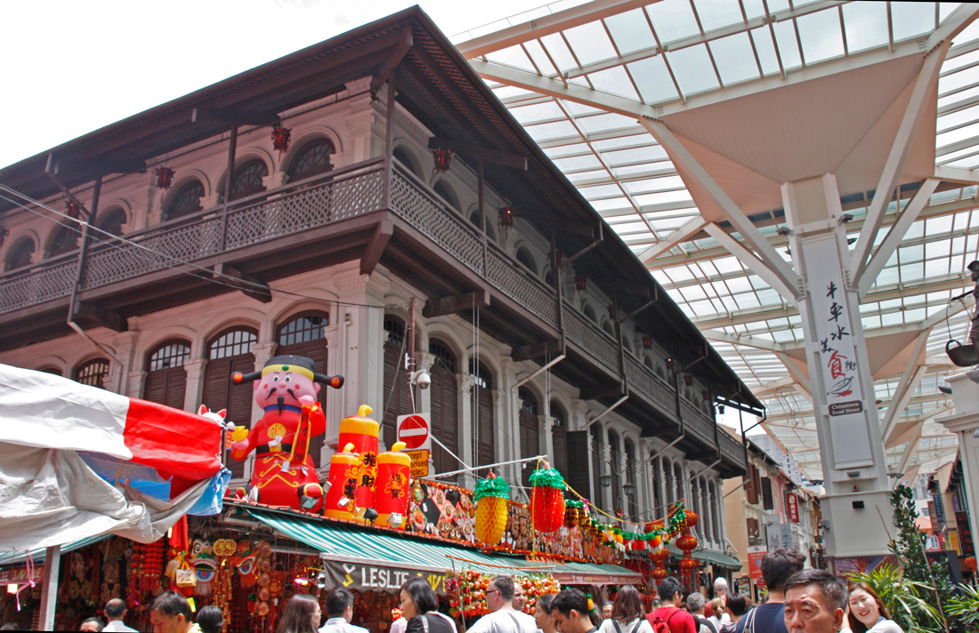 china town, singapur