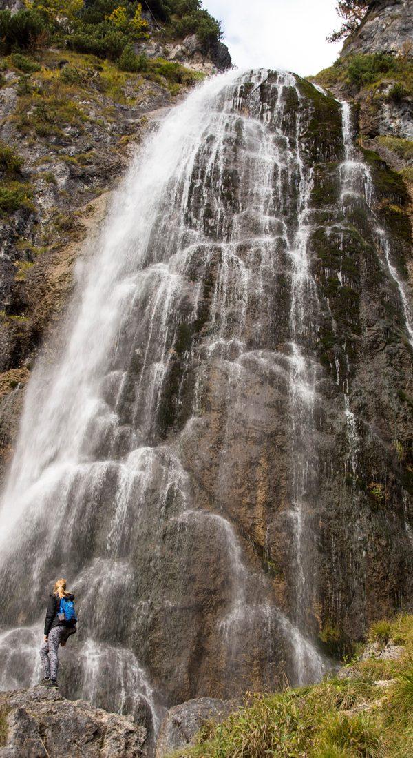 wasserfall, aachensee, tirol