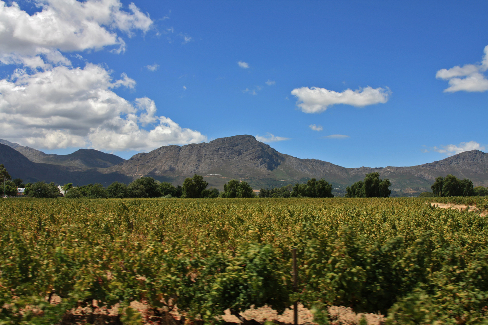 Franschhoek South Africa Wein