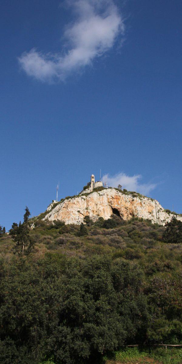 Lykabettus berg athen