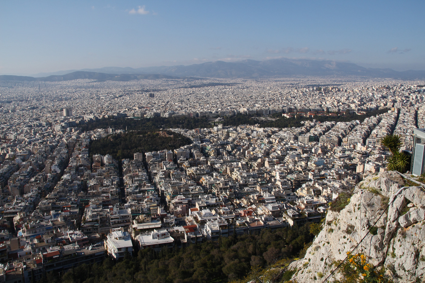 lykabettus athen greece