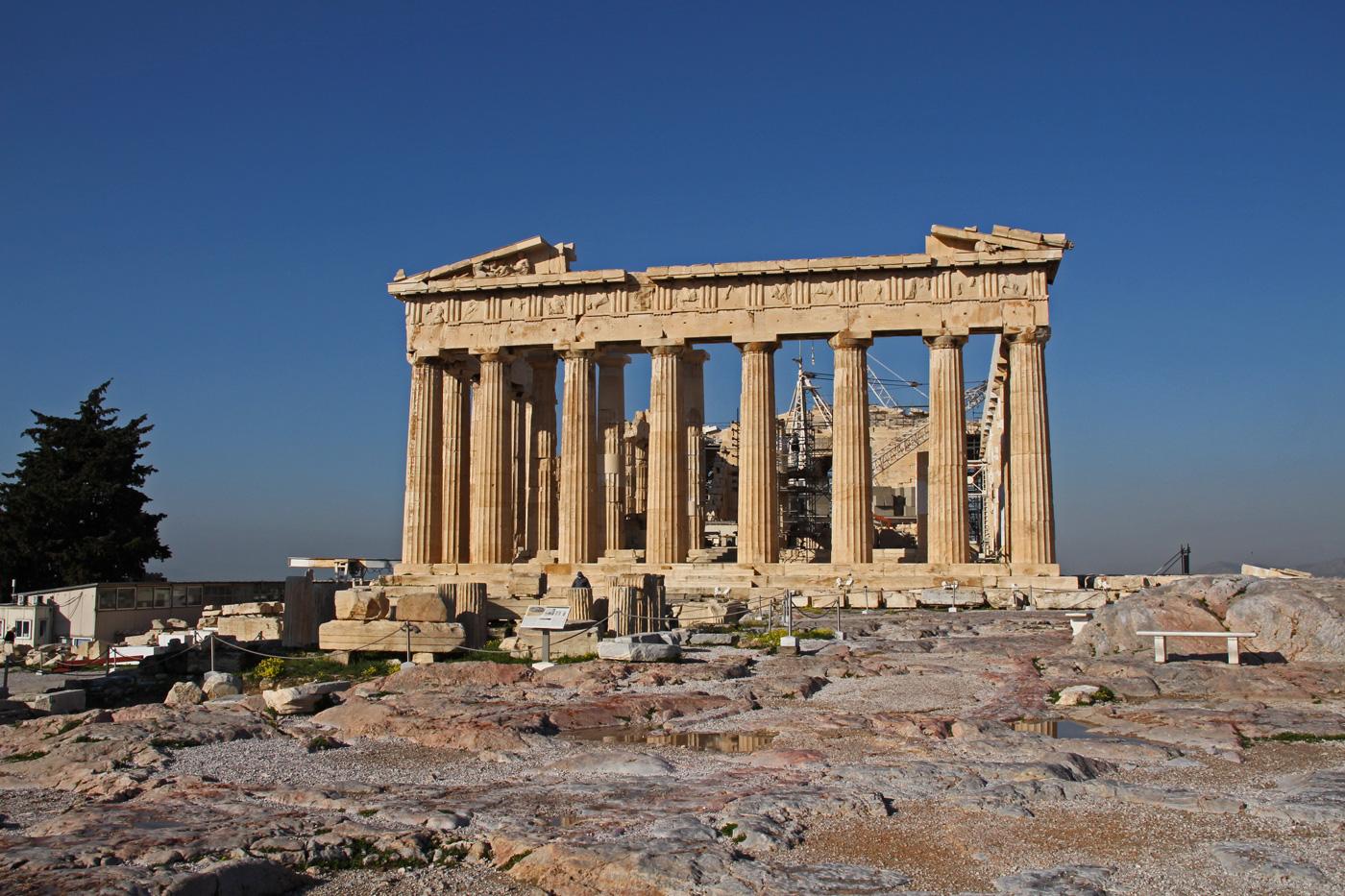 Parthenon tempel athen