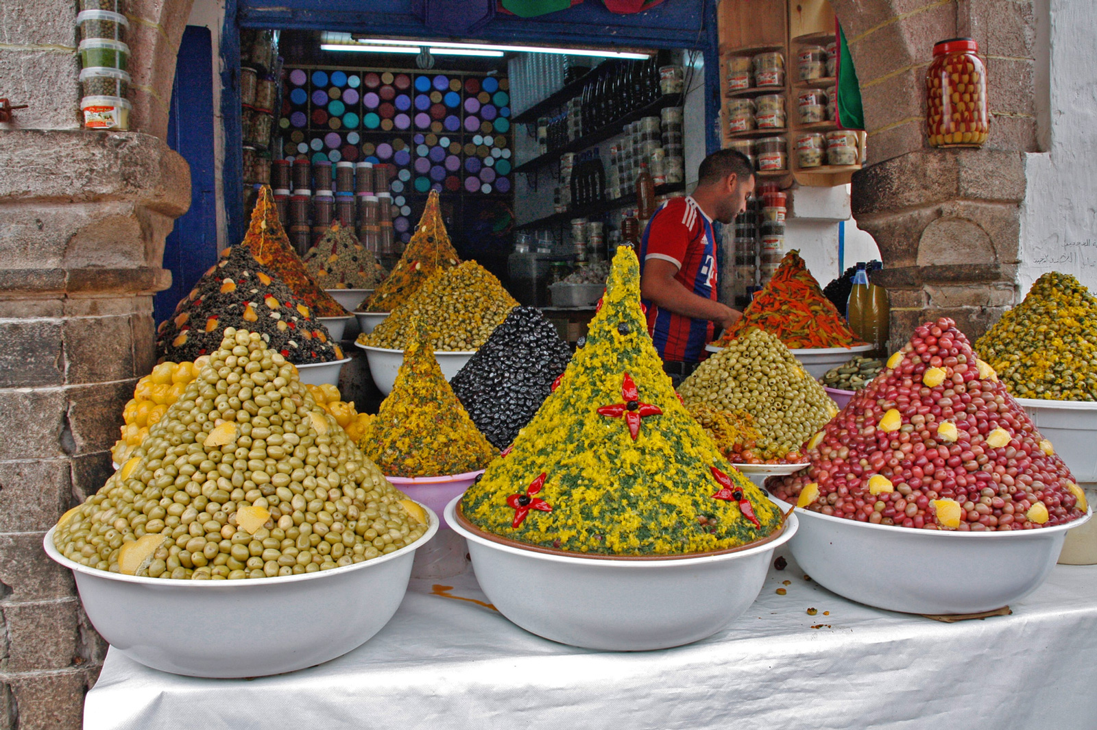 markt oliven marokko