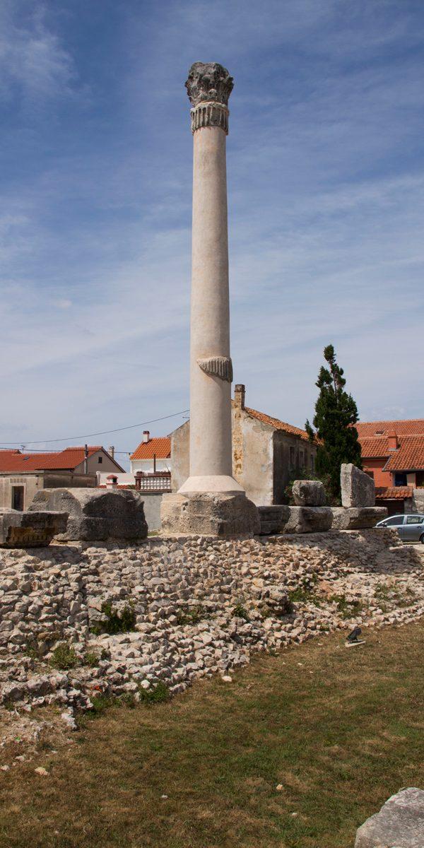 nin tempel kroatien