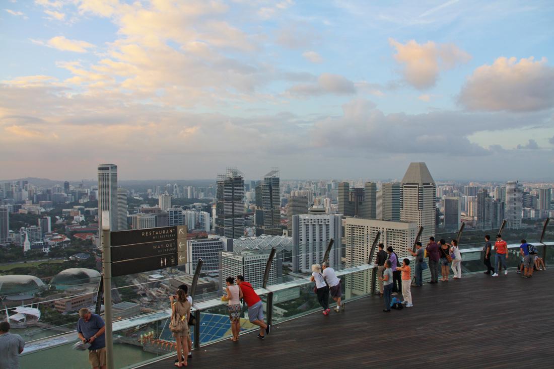 Marina Bay Sands,Rooftop,SIngapur