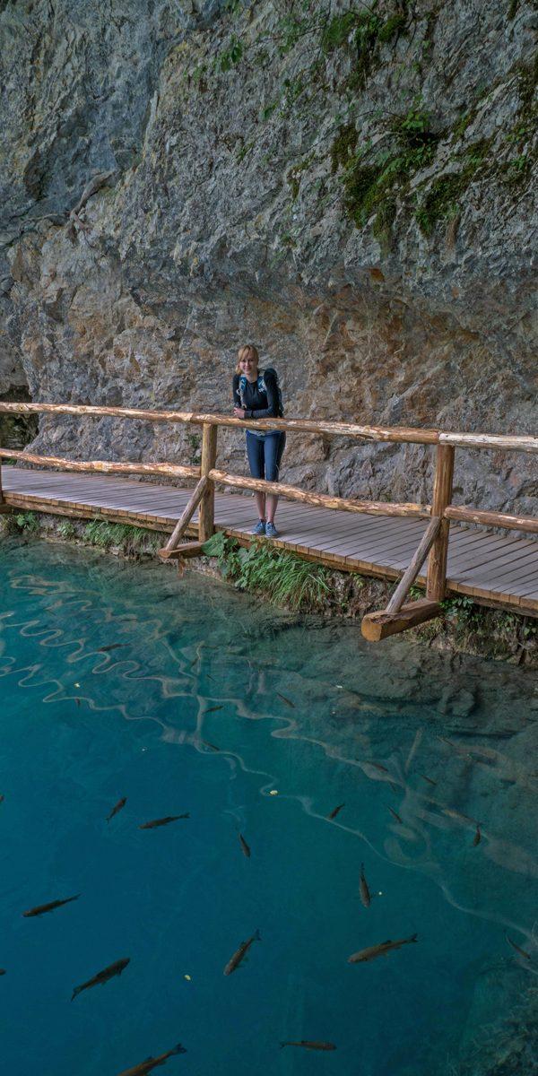 plitvicer fische kroatien