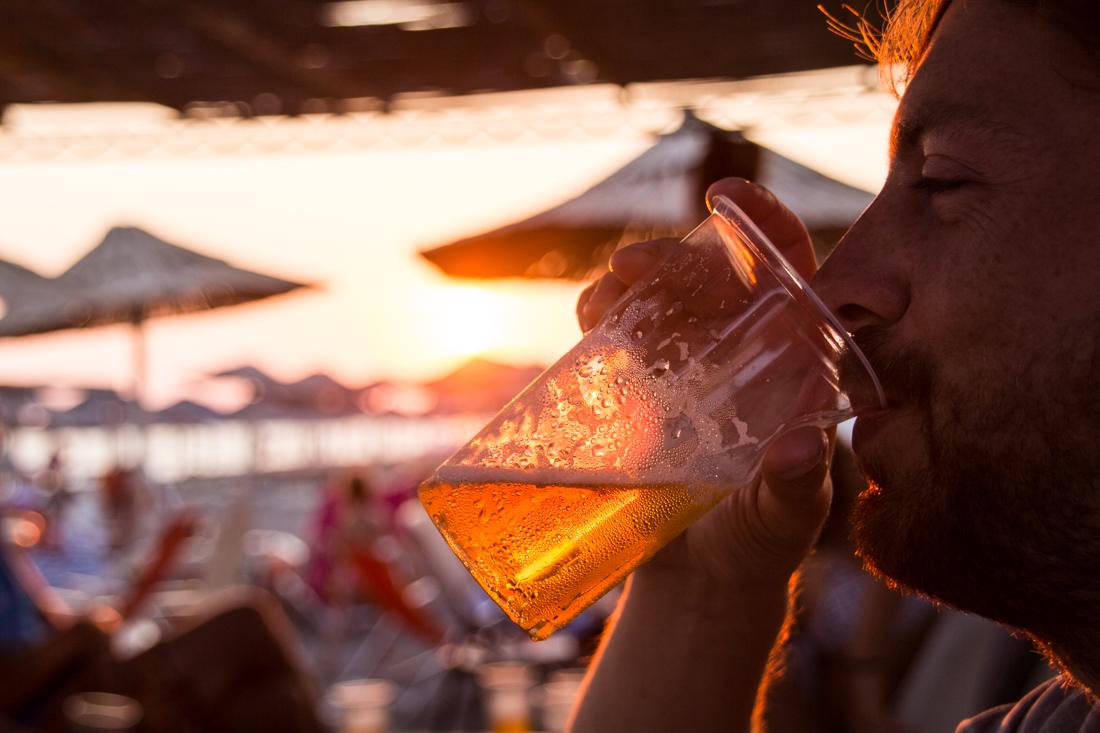 ulcinj-strand-bier